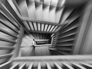 Old Staircase by Henk Van Maastricht