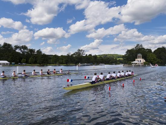Henley Regatta, Henley-On-Thames, Oxfordshire, England, United Kingdom-Charles Bowman-Photographic Print