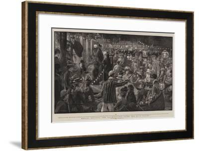 Henley Regatta, the Illuminations after the Day's Racing-Charles Joseph Staniland-Framed Giclee Print