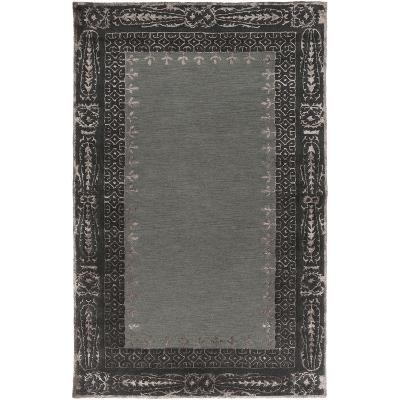 Henna Area Rug - Slate/Charcoal 5' x 8'--Home Accessories