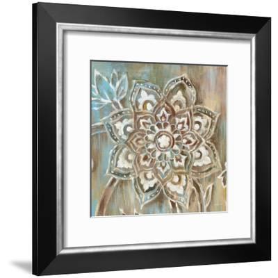 Henna II Blue-Danhui Nai-Framed Art Print