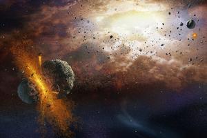 Early Solar System by Henning Dalhoff