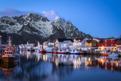 Henningsv?r the Venice of the Lofoten-Marco Carmassi-Photographic Print