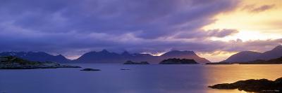 Henningsvaer, Vestfjorden, Lofoten Islands, Norway-Walter Bibikow-Photographic Print