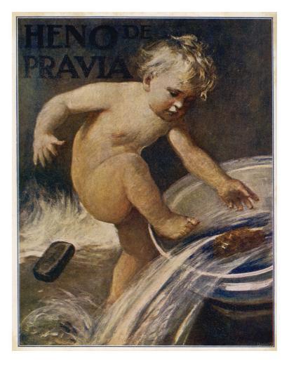 Heno De Pravia Soap--Giclee Print