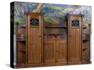Art Nouveau Style Welsh Dresser Part Of Dining Room Set 1905 1908Henri Bellery Desfontaines