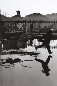 Derriere la Gare Saint-Lazare, Paris by Henri Cartier-Bresson
