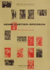 Expo 55 - Musée des Arts Décoratifs by Henri Cartier-Bresson
