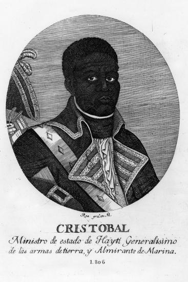 Henri Christophe, King of Haiti, 1806-Rea-Giclee Print