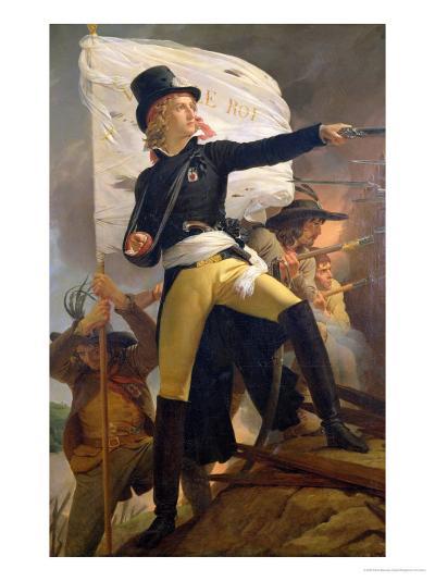 Henri De La Rochejaquelein (1772-94), Leader of the Revolt in the Vendee, 1817-Pierre Narcisse Gu?rin-Giclee Print