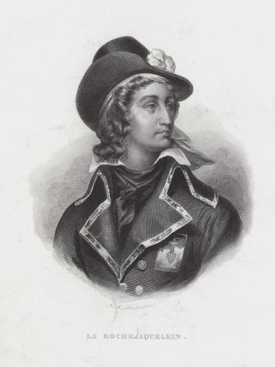 Henri De La Rochejaquelein, French Royalist General of the Vendee Revolt--Giclee Print