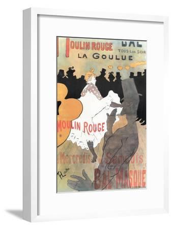1891 Moulin Rouge La Goulue (1bande)