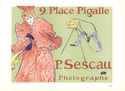9 Place Pigalle P. Sescall Photographe