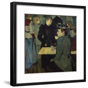 A Corner in the Moulin De La Galette by Henri de Toulouse-Lautrec