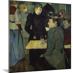 A Corner in the Moulin De La Galette by Henri de Toulouse-Lautrec