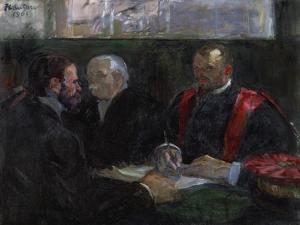 An Examination at the Faculty of Medicine, 1901 by Henri de Toulouse-Lautrec