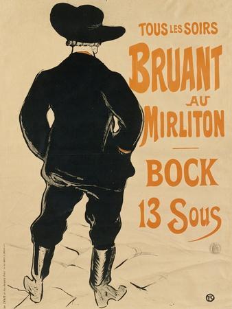 Aristide Bruant, 1893
