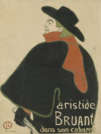 Aristide Bruant, in His Cabaret, 1893