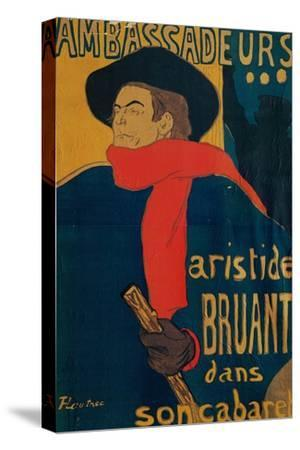 Aristide Bruant, Singer and Composer, at Les Ambassadeurs on the Champs Elysees, Paris, 1892