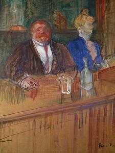 At the Bar, 1898 by Henri de Toulouse-Lautrec