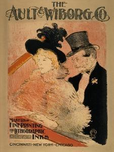 At the Concert, 1896 by Henri de Toulouse-Lautrec