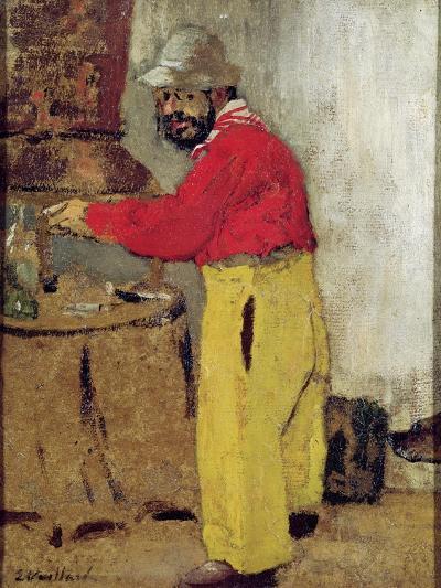 Henri De Toulouse-Lautrec at Villeneuve Sur Yonne, 1898-Edouard Vuillard-Giclee Print