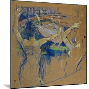 Ballet De Papa Chrysantheme, 1892 by Henri de Toulouse-Lautrec