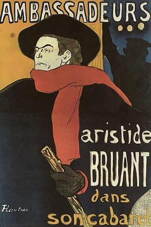 Bruant in Ambassadeurs, 1892