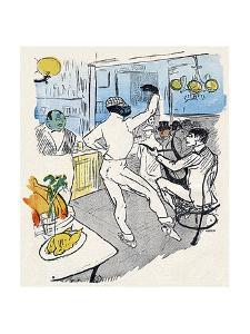 Chocolat, Lautrec, Rire 96 by Henri de Toulouse-Lautrec