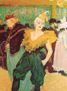 Clown Cha-U-Kao by Henri de Toulouse-Lautrec