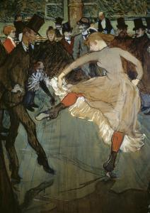 Dance at the Moulin Rouge by Henri de Toulouse-Lautrec