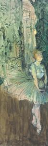 Dancer, 1895-96 by Henri de Toulouse-Lautrec