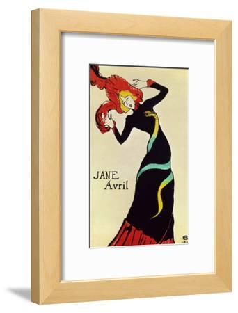 Dancer Jane Avril, Poster