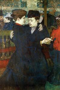 Dancing a Valse by Henri de Toulouse-Lautrec