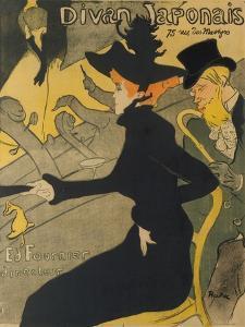 Divan Japonais, 1892-93 by Henri de Toulouse-Lautrec