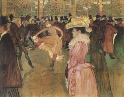 Dressage des nouvelles, par Valentin le Desosse (Moulin Rouge)