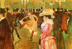 Dressage des Nouvelles par Valentin by Henri de Toulouse-Lautrec