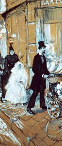 First Communion Day, 1888 by Henri de Toulouse-Lautrec