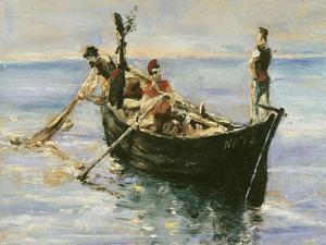 Fishing Boat, 1881 by Henri de Toulouse-Lautrec