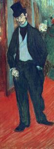 Gabriel Tapie De Celeyran in a Theater Corridor, 1893-1894 by Henri de Toulouse-Lautrec