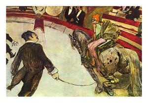 In the Circus by Henri de Toulouse-Lautrec