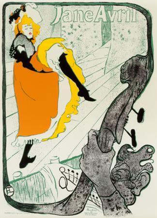 Jane Avril, 1893