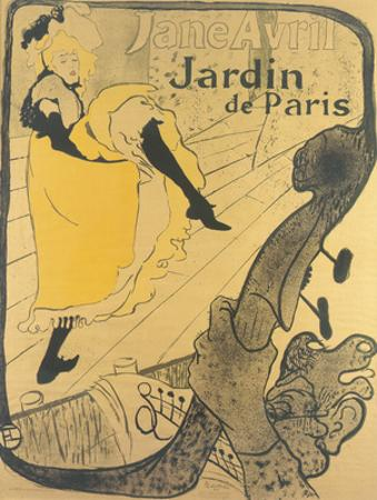 Jane Avril au Jardin de Paris