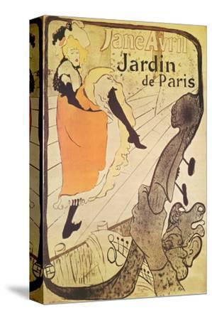 Jane Avril in Jardin de Paris