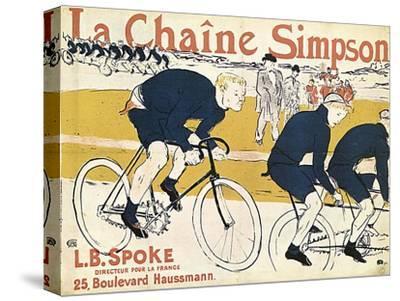 La Chaîne Simson, (Advertising Poste), 1896