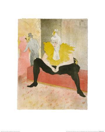 La Clownesse Assise(Mademoiselle Cha-U-Ka-O)  1896