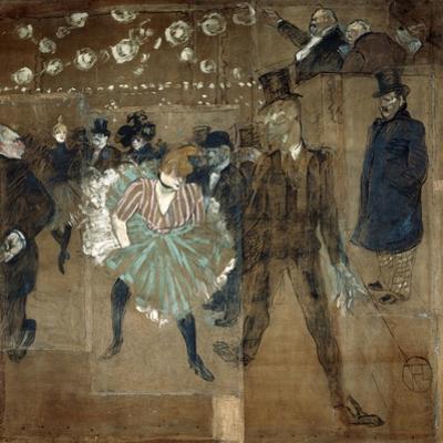 La Goulue and Valentin Le Desosse, 1895