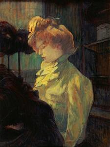 La Modiste, 1900 by Henri de Toulouse-Lautrec