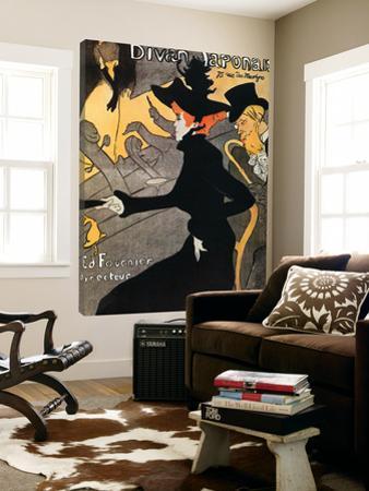 Le Divan Japonnais by Henri de Toulouse-Lautrec