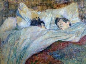 Le Lit by Henri de Toulouse-Lautrec